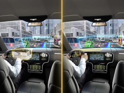 Continental hat das Head-up-Display weiterentwickelt. (Foto: Continental)